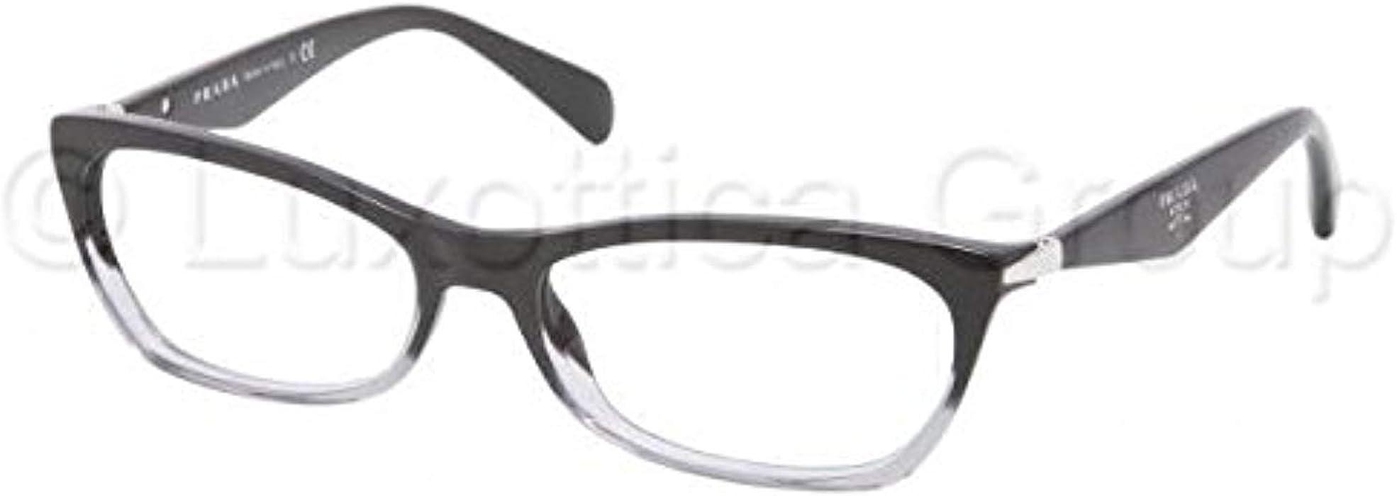 eb30825cb738 Prada Women s PR 15PV Eyeglasses 55mm at Amazon Men s Clothing store ...