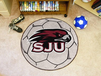 St. Josephs University Soccer Ball Rug