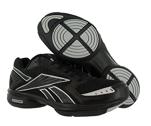 Reebok SimplyTone ReeStride(Black Pure Silver) 10.5 - Import It All f23c5ffb5