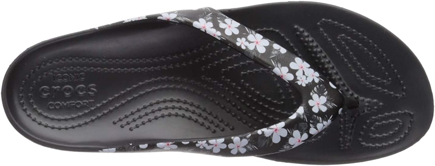 Water Shoes Crocs Womens Kadee Ii Graphic Flip Flops