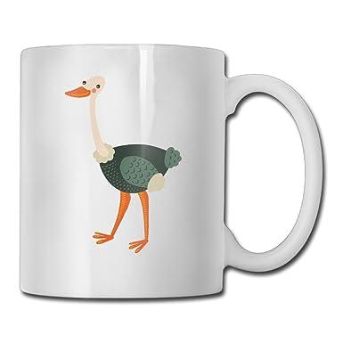 Amazoncojp 鳥 ダチョウ 飛べない鳥 野生動物 おしゃれ マグカップ