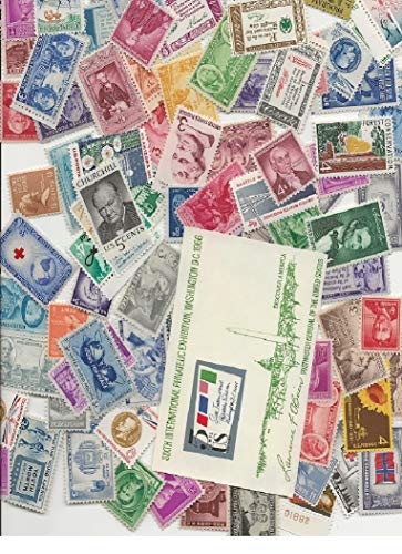 Mint Hinged Souvenir Sheet - This is a nice collection of at least 50 mint, never-hinged United States stamps, all of which are at least 50 years old. Some will be from the 1930s, such as 1936 Army-Navy and 1938 Presidential set. Some will be from the 1940s, including Famous Americans and Overrun Nations. Also included is a souvenir sheet. Stamps are in great collectible condition, but also can be used for postage if desired.