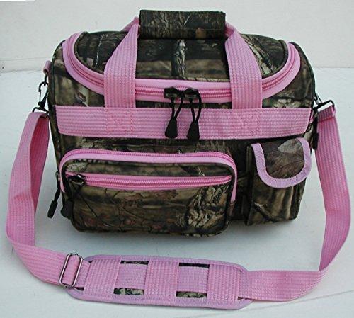 5aae28f746a3 Mossy Oak Infinity Duffel Bag with Pink Strap - MT14P