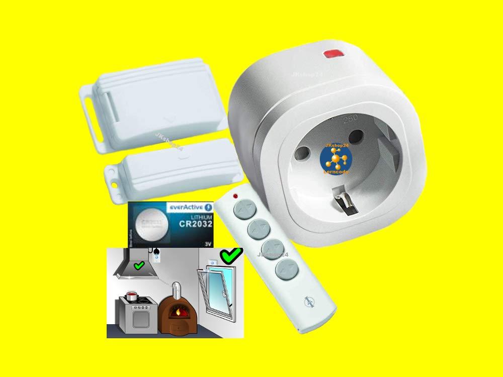 Funk Abluftsteuerung DIW 3600 W Fensterkontaktschalter DFM-1000 DFM-DZS