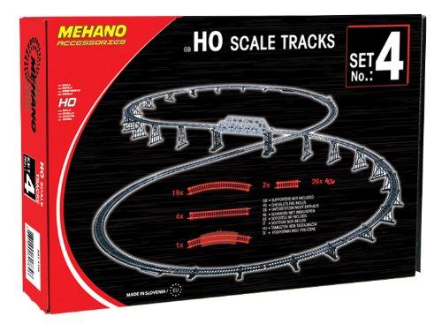 Mehano Vía para modelismo ferroviario (F104)