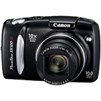 Canon PowerShot SX120IS 10MP Digital Camera with 10x Optical Images Stabilized Zoom and 3-inch LCD Review Review Image