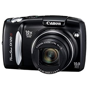 Canon PowerShot SX120IS 10MP Digital Camera with 10x Optical Images Stabilized Zoom and 3-inch LCD