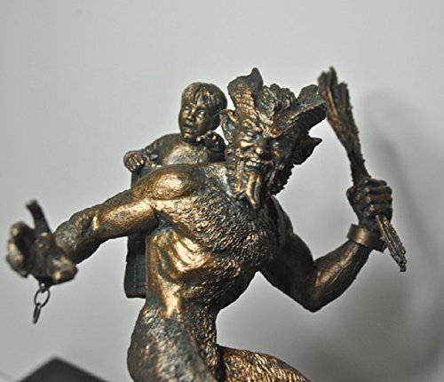 Krampus Statue I, Bronze finish