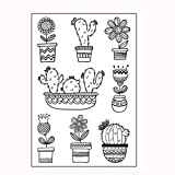 Clear Stamps For Card Making,Hongxin Clear Stamps Cutting Dies Transparent Stamps For Scrapbooking DIY Embossing Folder Template Crafts Card Album Creative Gift (E)