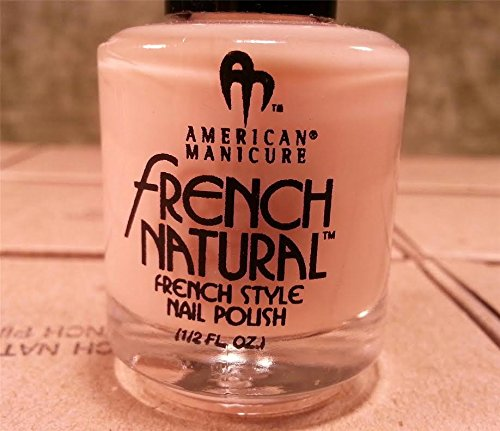 Natural French Manicure - American Manicure French Natural Style Pink Nail Polish .5oz