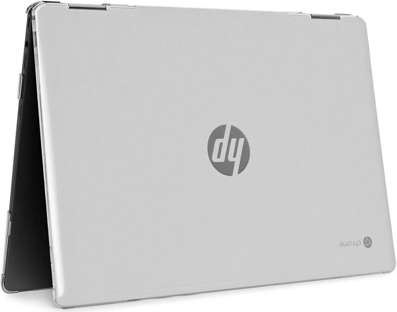 """mCover Hard Shell Case for 2020 14"""" HP Chromebook X360 14b-CAxxxx Series laptops (Clear)"""