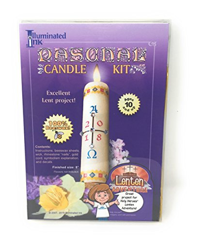 Paschal Candle Kit by Illuminated Ink