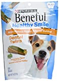 PURINA 178469 Beneful Healthy Smile Twists Small/Medium for Pets (Pack of 5), 7.4 Oz