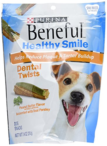 Cheap PURINA 178469 Beneful Healthy Smile Twists Small/Medium for Pets (Pack of 5), 7.4 Oz