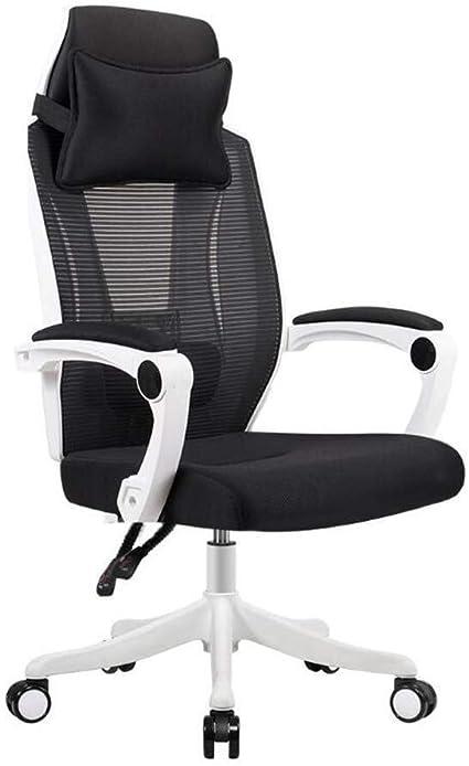 Silla reclinable ergonómica, con reposacabezas y soporte lumbar ...