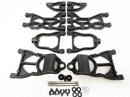 Hpi Arm Set Suspension - King Motor Front & Rear Nylon Arm Set Fits HPI Baja 5B 5T Rovan Buggy