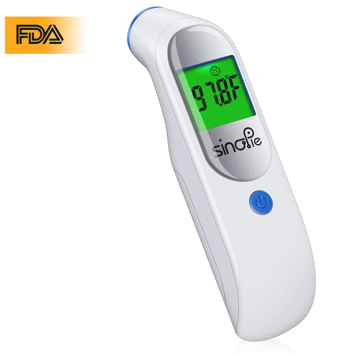 Baby Forehead Thermometer, Digital Infrared Medical Thermometer - FDA Approved Non Contact Digital Thermometer for