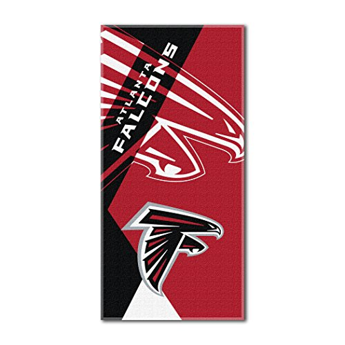 The Northwest Company Officially Licensed NFL Atlanta Falcons Puzzle Beach Towel, 34