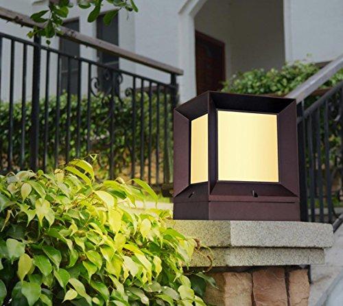 Outdoor Patio Column Lighting