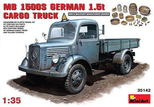 1:35 L1500s German 1.5t 4x2 Cargo Truck