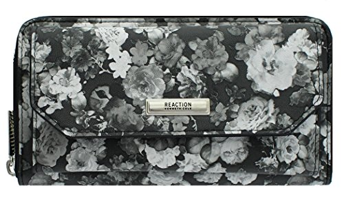 Kenneth Cole Reaction Womens Urban Organizer Wallet (FLORAL) (Purse Kenneth Reaction Cole)