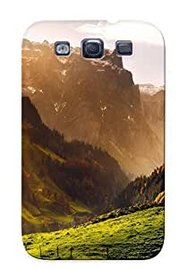 Galaxy S3 PyOjPvO4254MjVII Landscapes Fog Tpu Silicone Gel Case Cover For Lovers