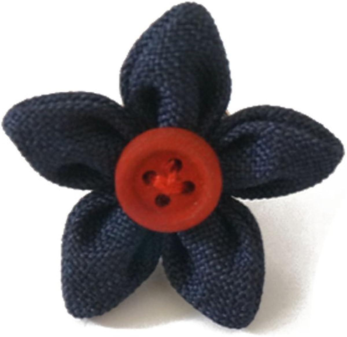 Sunny Home Vintage Men's Flower Button Handmade Suit Boutonniere Lapel Pin