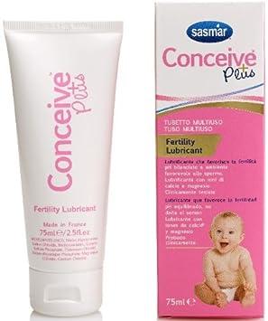 Conceive Plus Gel Lubricante Fertilidad Tubo Multiuso 75 ml: Amazon.es: Salud y cuidado personal