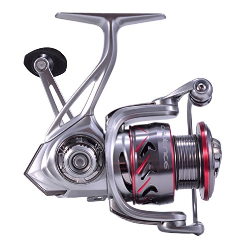 Cadence Fishing CS7 Spinning Reel | Durable Aluminum Frame | Carbon Composite Rotor & Side Plate | 9 + 1 Corrosion Resistant Bearings | Size 2000