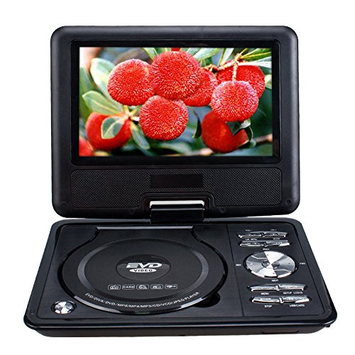 Portable 7.8 Inch NS-788 LCD screen car EVD DVD video player USB SD GAME, (Portable Dvd Player Cleaner)