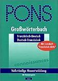 PONS Großwörterbuch Französisch, m. Daumenregister u. Extraheft Französisch aktiv