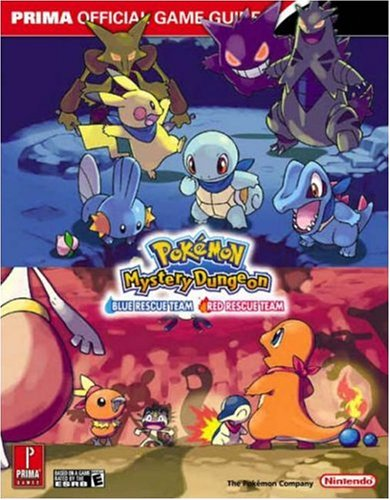 - Pokémon Mystery Dungeon: Blue Rescue Team • Red Rescue Team - The Official Pokémon Strategy Guide