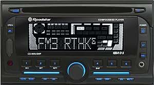 Roadstar CD-900USMP CD-MP3-Tuner (Doppel DIN, SD-Kartenslots, Kassettendeck, Radio mit RDS, USB 2.0) schwarz