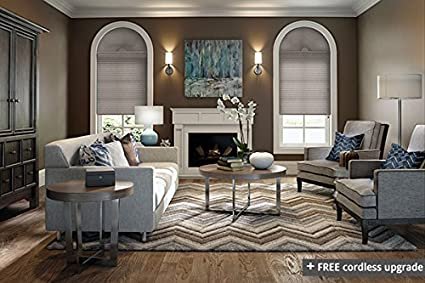 graber cellular shades blackout graber 38quot single cell light filtering cellular shades inside mount amazoncom 38