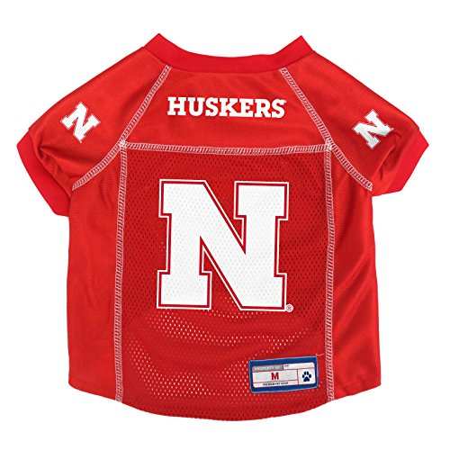 NCAA Nebraska Cornhuskers Pet Jersey, Medium ()