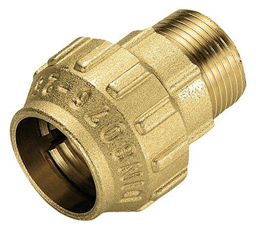 Cornat-Bewsserungsrohre-Messing-Verschraubung-fr-PE-HD-Rohr-A-32-mm-B-1-Zoll-Auengewinde-Mehrfarbig