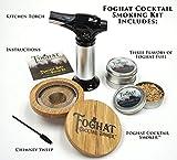 Foghat Cocktail Smoking Kit with Bourbon Barrel