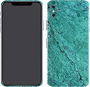 Switch iPhone X Skin Classic Sea Blue Marble