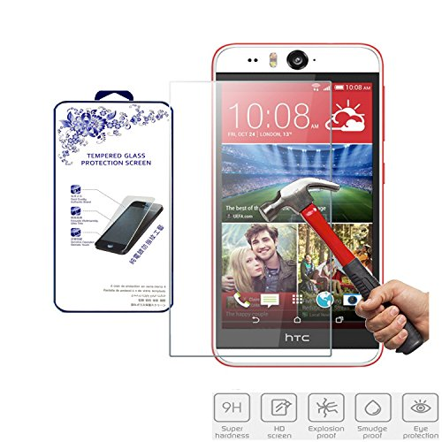 Tempered Glass Clear Screen Protector for Htc Desire Eye - 4