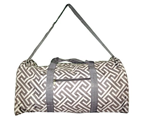 21″ Duffle Bag,Overnight, Carry on bag with Outside Pocket and Shoulder Strap (Not Personalized but Personalizable) Review