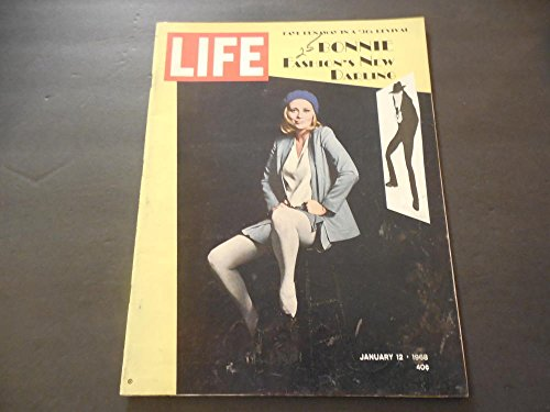 Life Jan 12 1968 1930's Fashion Revival (Is A Tommy Gun An Accessory?) ()