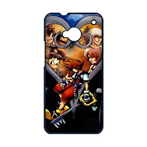 The Fashion Cute New Hot Anime Kingdom Hearts printed pattern for HTC One M7 hard Case Popular plastic slim durable cover creative gift ultrathin dirtproof shock-proof Premium Quality Limited Edition by iDesign Studio