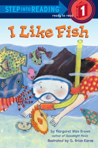 I like fish step into reading kindle edition by margaret wise i like fish step into reading by brown margaret wise fandeluxe Images