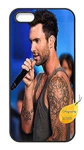 iPhone 5y 5S Custom Case, iphone 5S Funda de Adam Levine, Maroon 5Funda para iPhone 5y 5S.