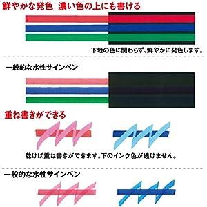 Uni Posca Paint Marker Pen, Fine Point, Set of 7 Natural Color (PC-3M 7C)