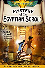 THE MYSTERY OF THE EGYPTIAN SCROLL: An Ancient Egypt Adventure (Kid Detective Zet Book 1)