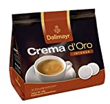 Dallmayr Crema d'oro Intensa Kaffee Pads, 5er Pack (5 x 16 Pads)