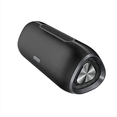 VAVA 24 Hours IPX5 Waterproof Bluetooth Speakers Outdoor Wireless Portable Speaker (Water Resistant, Triangular Prism Design, Pulsating Bass for Camping, Beach, Sports, Pool Party, Shower)