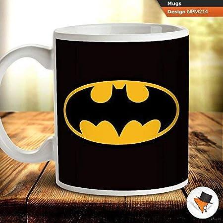 Batman Classic Logo taza de café té taza regalo cumpleaños ...