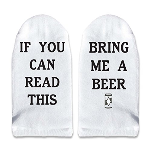 If You Can Read This Bring Me Wine - Multiple Sayings Available - Coffee Beer Cocktail - No-Show Socks Size 9-11 - 78 Of 2 Glasses Pairs For